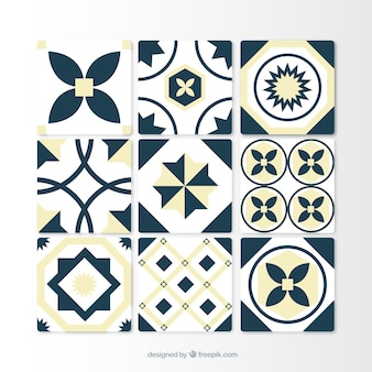 Decoratieve tegel collectie