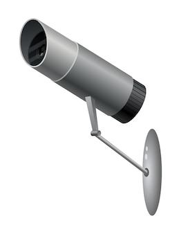 Decoratieve videobewakingscamera