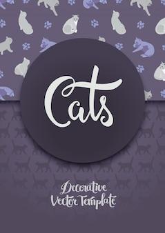 Decoreren met de katten