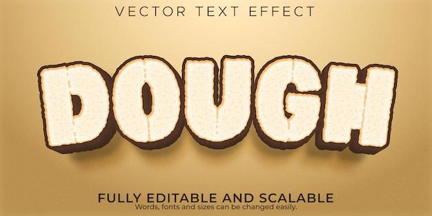 Deeg tekst effect,