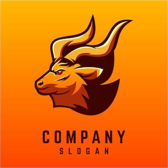 Deer logo ontwerp