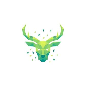 Deer polygon concept illustratie