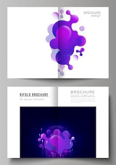 Dekking voor tweevoudige brochure