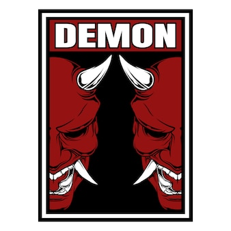 Demon, monster, satanisch.