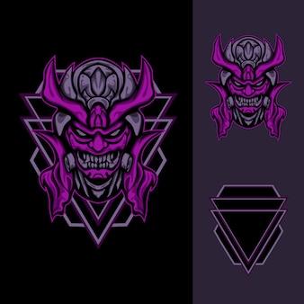 Demon toxic mask