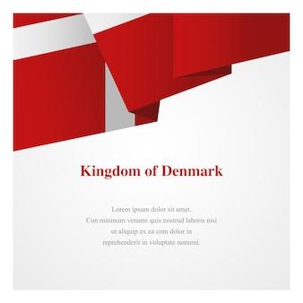 Denemarken insignia sjabloon
