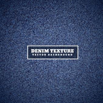 Denim textuur in het blauw