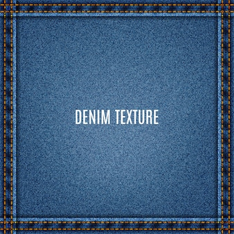 Denim van jeans blauwe textuur stof met zak