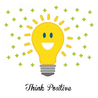 Denk positief ontwerp.