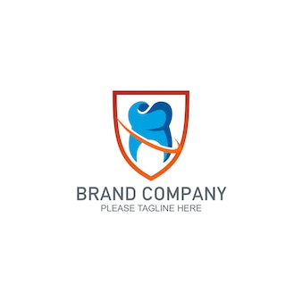 Dental protection design-logo