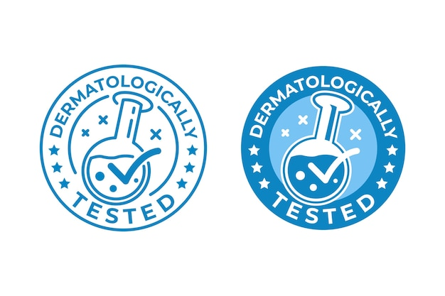 Dermatologisch getest logo