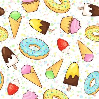 Dessert patroon