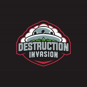 Destruction invasion logo esports