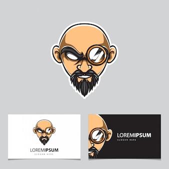 Detective head-logo