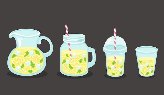 Detox water met citroen