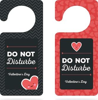 Deurhanger valentijnsdag