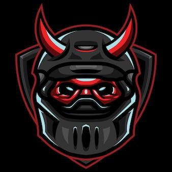 Devil riders esport logo afbeelding