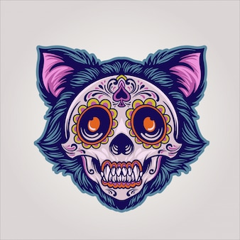 Dia de los muertos cat