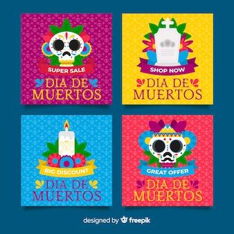 Día de muertos instagram postverzameling