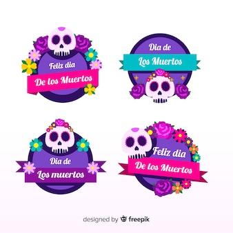 Dia de muertos labelverzameling