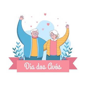 Dia dos avós getekend
