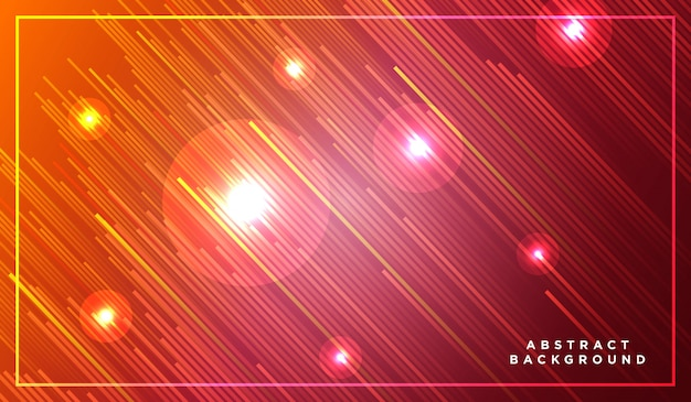 Diagonale strepen lijnen stijgen met gloeiend licht
