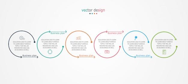 Diagram bedrijf gebruikt bij de presentatie van onderwijs