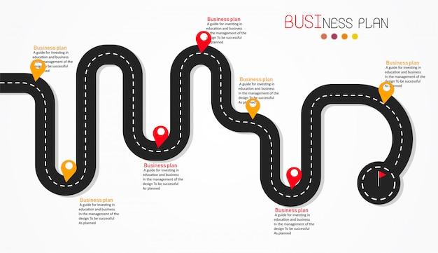 Diagram bedrijfs en onderwijs vectorillustratie