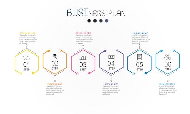 Diagram bedrijfs en onderwijs vectorillustratie.