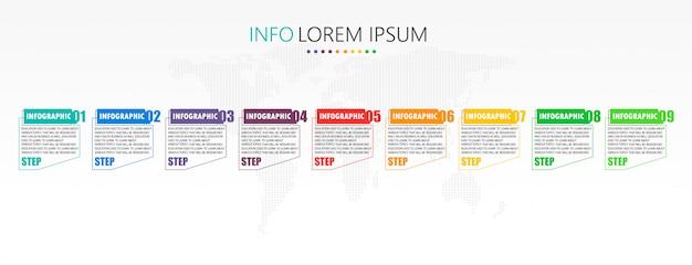 Diagram gebruikt in onderwijs en vectorontwerp profiteert van bedrijfsonderwijsillustratie