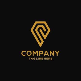 Diamant logo ontwerp