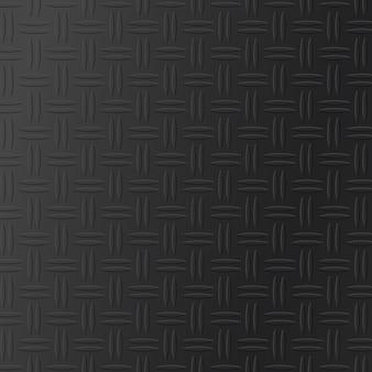 Diamant plaat metalen textuur achtergrond. realistisch vloerrooster. naadloos industrieel oppervlaktepatroon. naadloze patroon