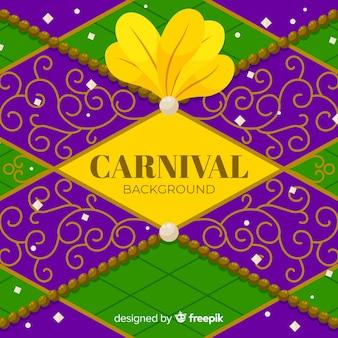 Diamond carnaval achtergrond