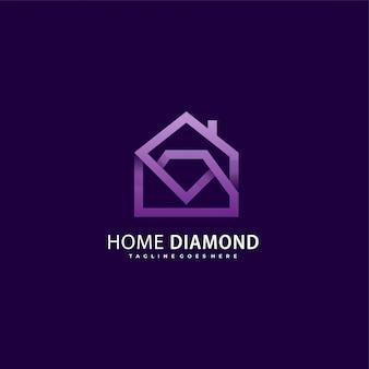 Diamond house-logo