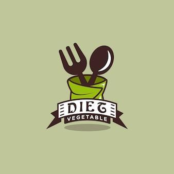 Dieet logo ontwerp