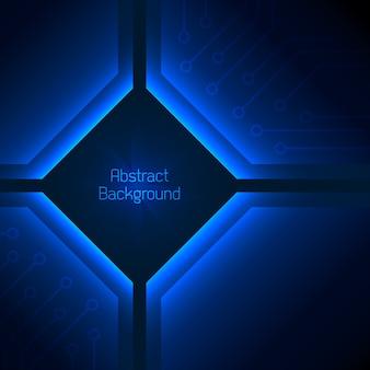 Diepblauwe abstracte achtergrond