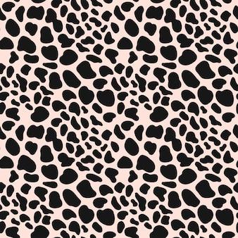 Dierenhuid luipaard naadloos patroon. cheetah, jaguar, panter, luipaardbont.