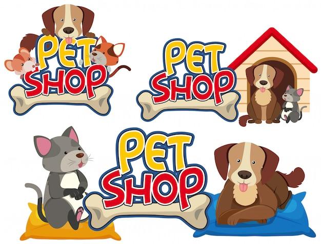 Dierenwinkel set van dieren
