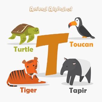 Dierlijk alfabet