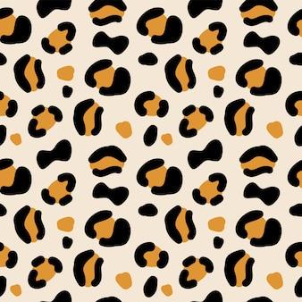 Dierlijke print naadloze patroon.