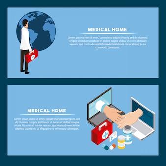 Digitaal gezondheidsconcept