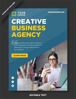 Digitaal marketingbureau posterontwerp