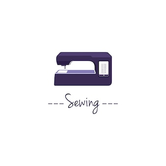 Digitaal naaimachine logo