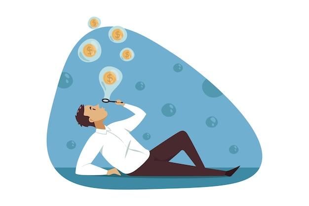 Digitaal verdienen van cryptocurrency