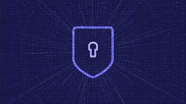 Digital privacy technology shield