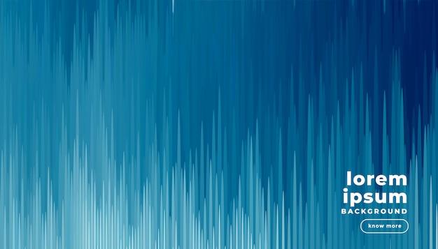 Digitale blauwe glitch kunst effect achtergrond