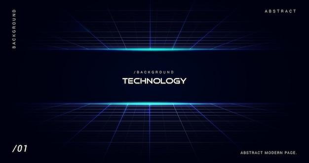 Digitale futuristische technologie ruimte achtergrond