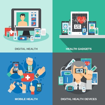 Digitale gezondheidsset