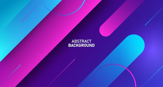 Digitale gradiënt abstracte stroom achtergrond