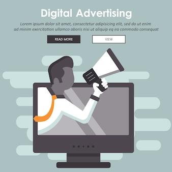 Digitale marketing en reclame
